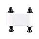 R2030 Ruban Pavé Ecriture Blanc, 1000 faces pour imprimante à Rubans Pebble 4 & Dualys3