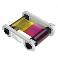 VBDG204EU Pack 1 ruban couleur YMCKO 100 faces + 1 Kit nettoyage pour imprimante Badgy ancienne génération
