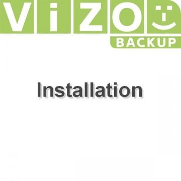Installation Vizobackup