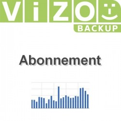 Abonnement Vizobackup annuel