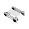 RCT015NAA Ruban Monochrome Blanc pour imprimante à Rubans Zenius & Primacy