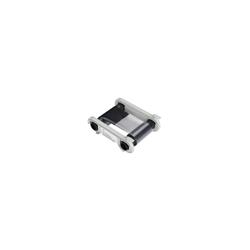 R2F009NAA Ruban Monochrome Noir + Vernis pour imprimante à Rubans Zenius & Primacy