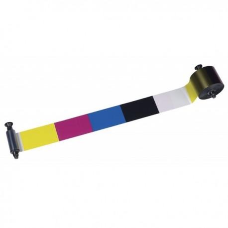 R3011 Ruban 5 panneaux couleur – YMCKO, 200 faces pour imprimante à Pebble 4