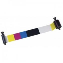 R3514 Ruban 6 panneaux couleur – YMCKOK, 500 faces pour imprimante à Pebble 4