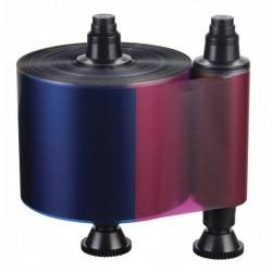R3511 Ruban 5 panneaux couleur – YMCKO, 500 faces pour imprimante à Rubans Pebble 4 & Dualys3