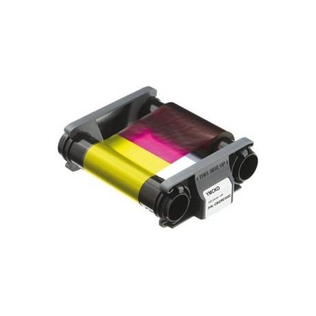 CBGR0100C Ruban couleur YMCKO 100f pour imprimante à Rubans Zenius & Primacy