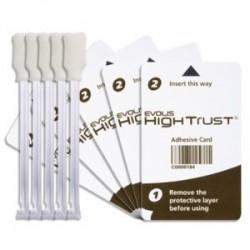 ACL001 Kit de nettoyage Regular : 5 cartes adhésives, 5 cotons-tiges pour imprimantes Zenius Primacy