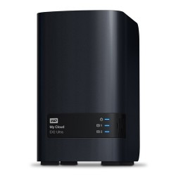 Western Digital My Cloud EX2 Ultra Ethernet/LAN Bureau Noir NAS