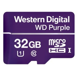 Western Digital Purple mémoire flash 32 Go MicroSDHC Classe 10