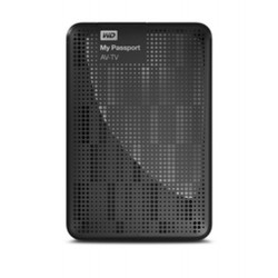 Western Digital My Passport AV-TV 1TB disque dur externe 1000 Go Noir