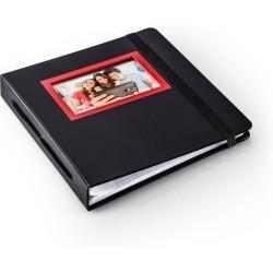 HP Sprocket album photo et protège-page Noir, Rouge